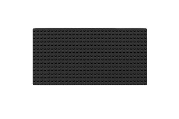 Grundplatte 16 x 32 Noppen (schwarz)