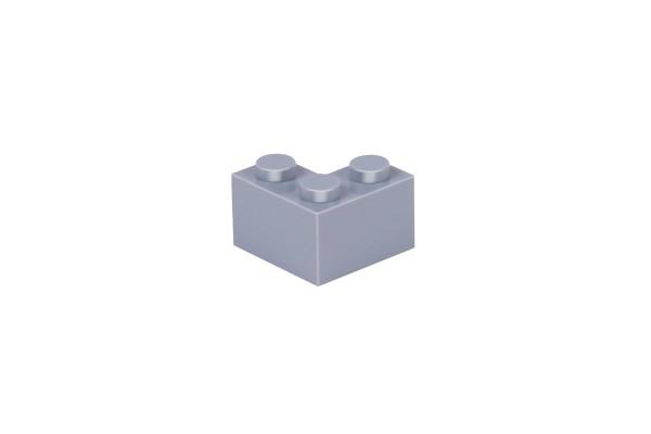 50 Stück Ecksteine 2 x 2 corner brick Farbe light bluish gray