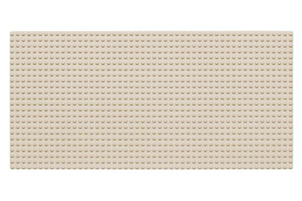 Grundplatte 24 x 48 Noppen (weiß)