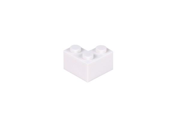 50 Stück Ecksteine 2 x 2 corner brick Farbe weiß