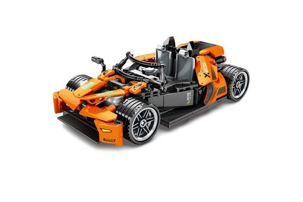 Oranges Renn-Kart Pullback