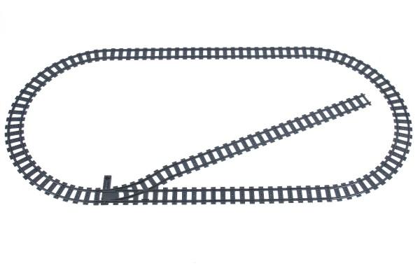 Schienenkreis L - Oval inkl. Abstellgleis