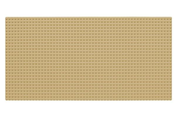 Grundplatte 28 x 56 Noppen (sand)