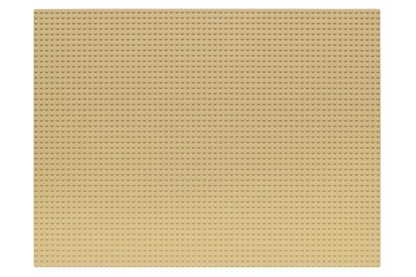 Grundplatte 48 x 64 Noppen (sand)