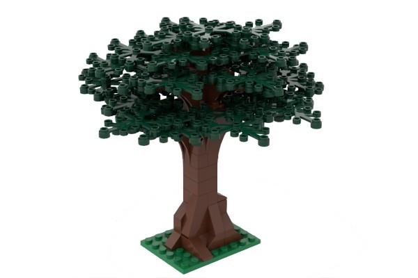 Großer Baum dunkelgrün