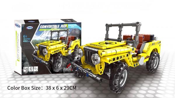 Cabrio Geländewagen Jeep