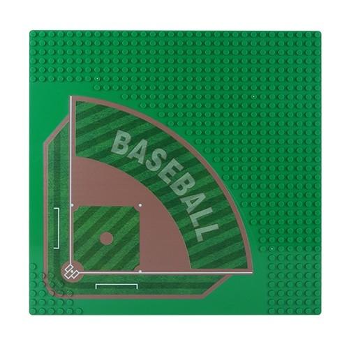 Platte Baseball Platz 32 x 32 Noppen