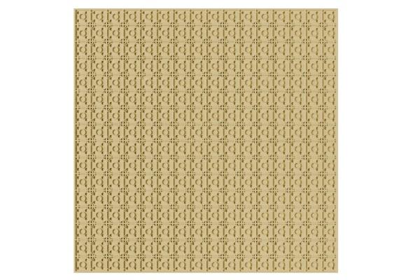 Grundplatte unterbaubar 32 x 32 Noppen (sand)