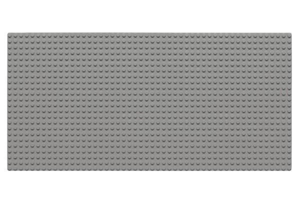 Grundplatte 24 x 48 Noppen (hellgrau)