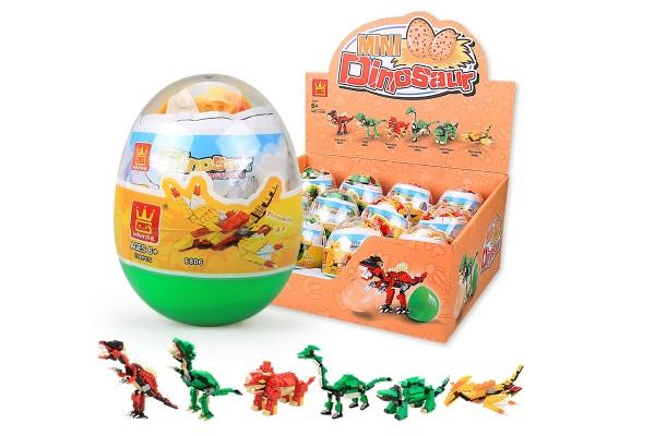 Verkaufsblister mit Dinos im Ei