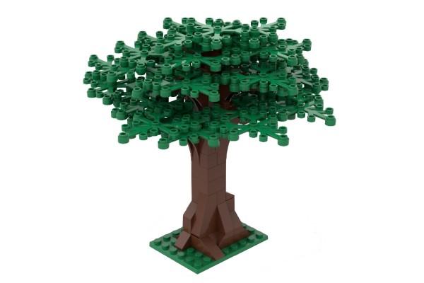 Großer Baum grün