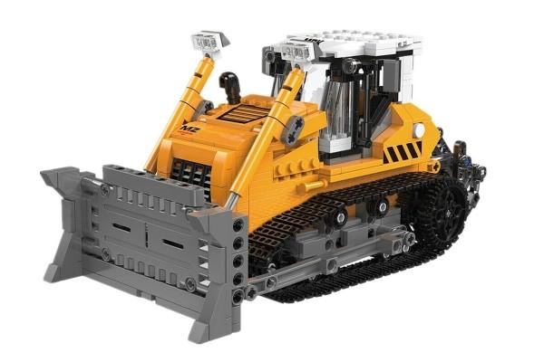 Baustellenfahrzeug Planierraupe