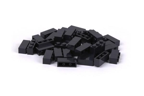 40 Stück Klemmbausteine 1 x 3 brick Farbe schwarz