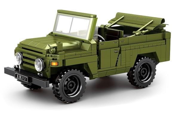 Militär Jeep der Volksrepublik China