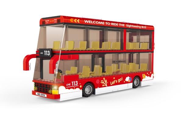 Doppeldecker Sightseeingtour Bus