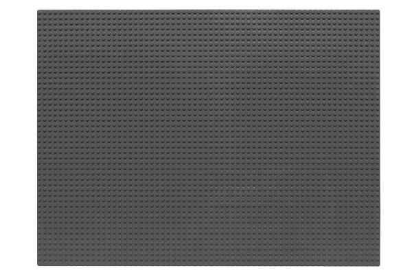 Grundplatte 48 x 64 Noppen (dunkelgrau)
