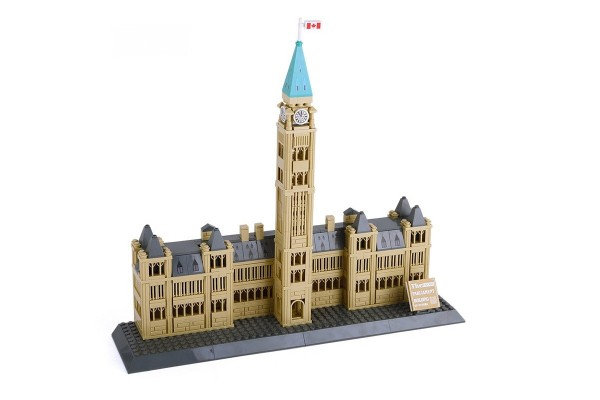 Centre Block mit Peace Tower in Ottawa