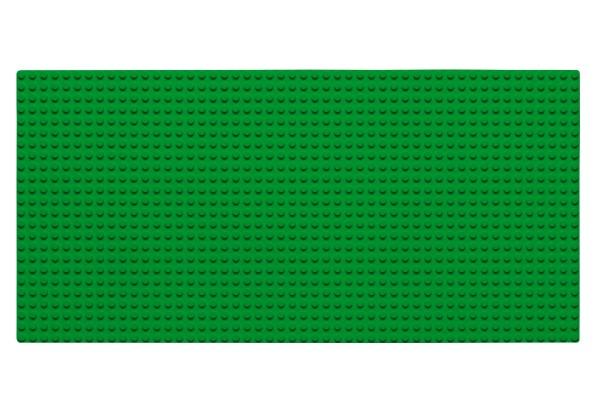 Grundplatte 24 x 48 Noppen (grün)