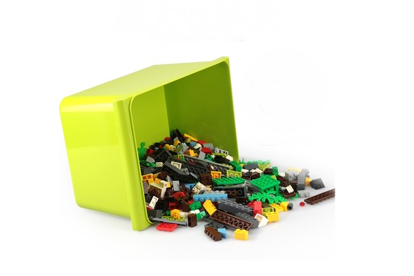 Kreativbox zum Bauen und Kombinieren mit toller Aufbewahrungsbox