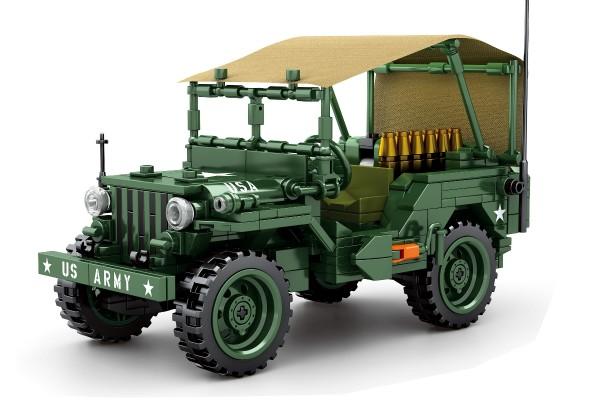Militär Jeep der Vereinigten Staaten