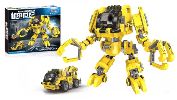 2 in 1 Konstruktions Roboter