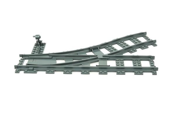 Eisenbahn Schiene Weiche links