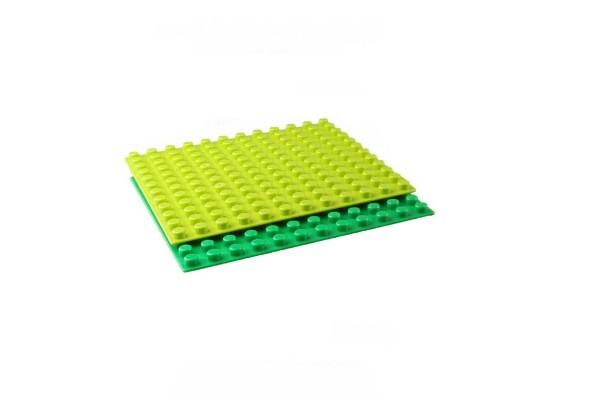 Bodenplatte 12 x 12 für XL Klemmbausteine dunkelgrau