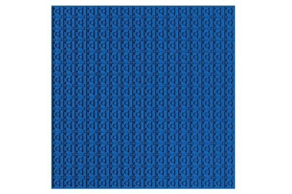 Grundplatte unterbaubar 32 x 32 Noppen (blau)