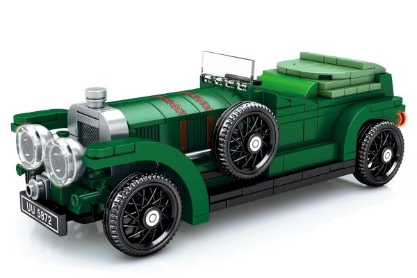 Oldtimer Cabrio in grün