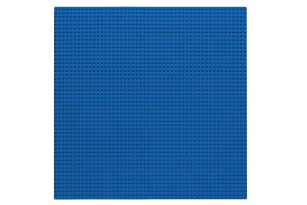 Grundplatte 50 x 50 Noppen (blau)
