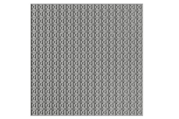 Grundplatte unterbaubar 32 x 32 Noppen (hellgrau)