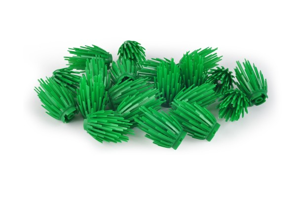 20 Stück Plant Prickly Bush 2 x 2 x 4 green