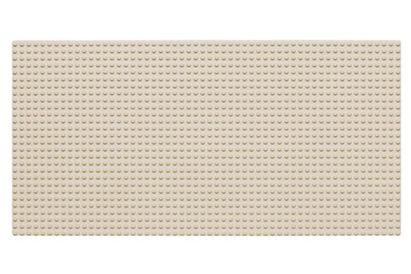 Grundplatte 28 x 56 Noppen (weiß)