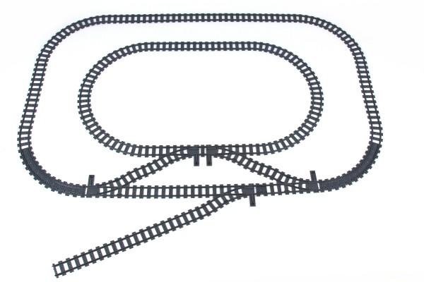 Schienenkreis 3 - Oval Innerer Schienenkreis klein inkl. Abstellgleis
