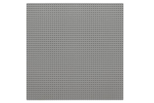 Grundplatte 50 x 50 Noppen (hellgrau)