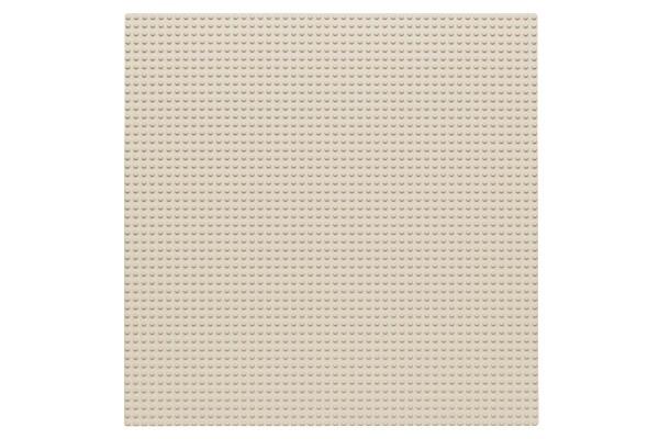 Grundplatte 50 x 50 Noppen (weiß)