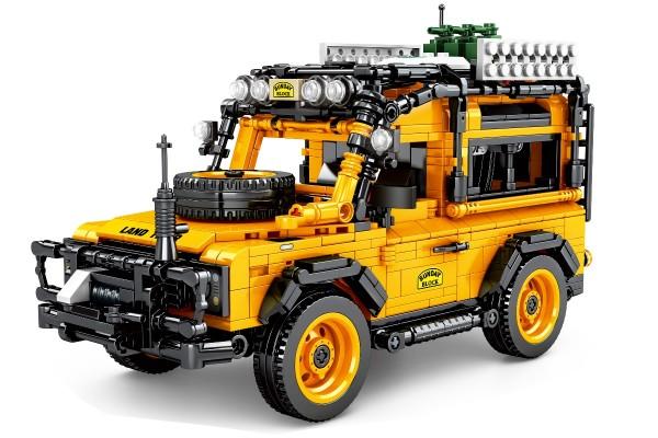 Geländewagen in orange