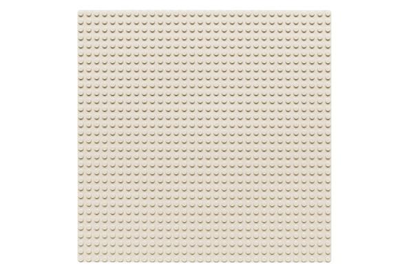Grundplatte 32 x 32 Noppen (weiß)