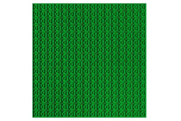 Grundplatte unterbaubar 32 x 32 Noppen (grün)