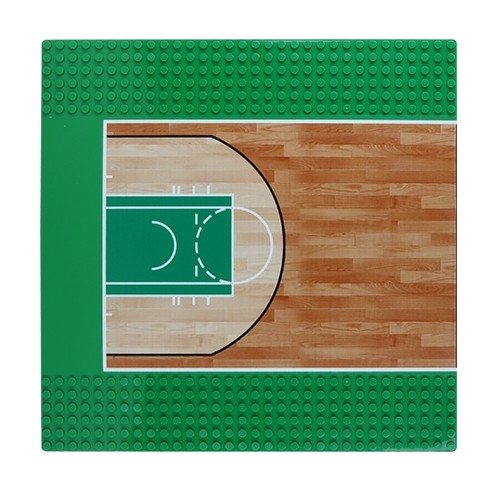 Platte Outdoor Basketball Court Hälfte 32 x 32 Noppen