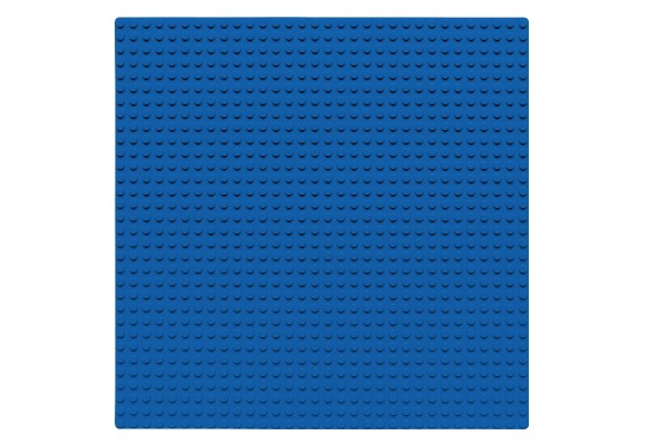 Grundplatte 32 x 32 Noppen (blau)