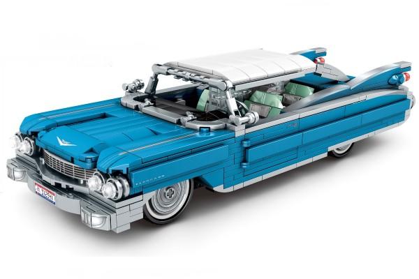 Oldtimer Cabrio in blau aus dem Bejing Auto Museum