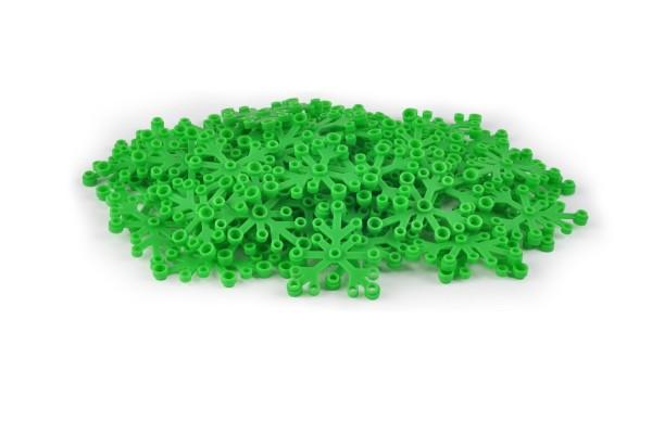50 Stück Blattelement 6 x 5 brick plant leaves Farbe bright green