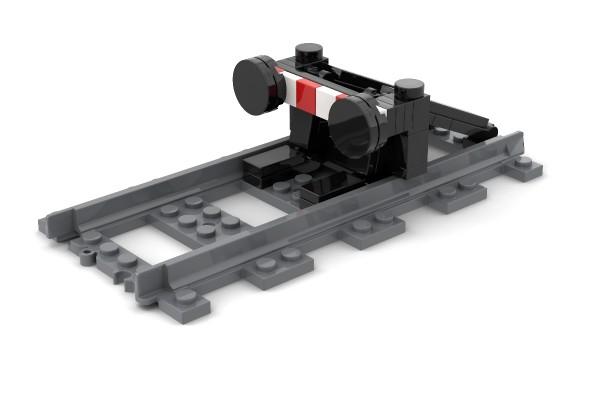 Prellbock für Eisenbahn