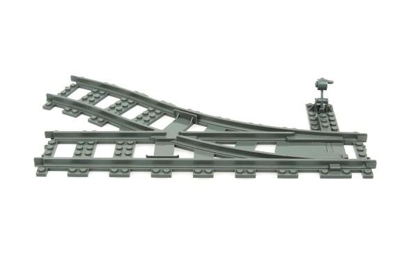 Eisenbahn Schiene Weiche rechts