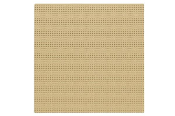 Grundplatte 50 x 50 Noppen (sand)