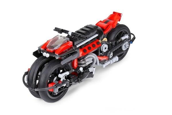 Futuristisches Motorrad