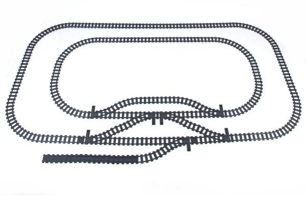 Schienenkreis 4 - Oval Innerer Schienenkreis groß inkl. Abstellgleis